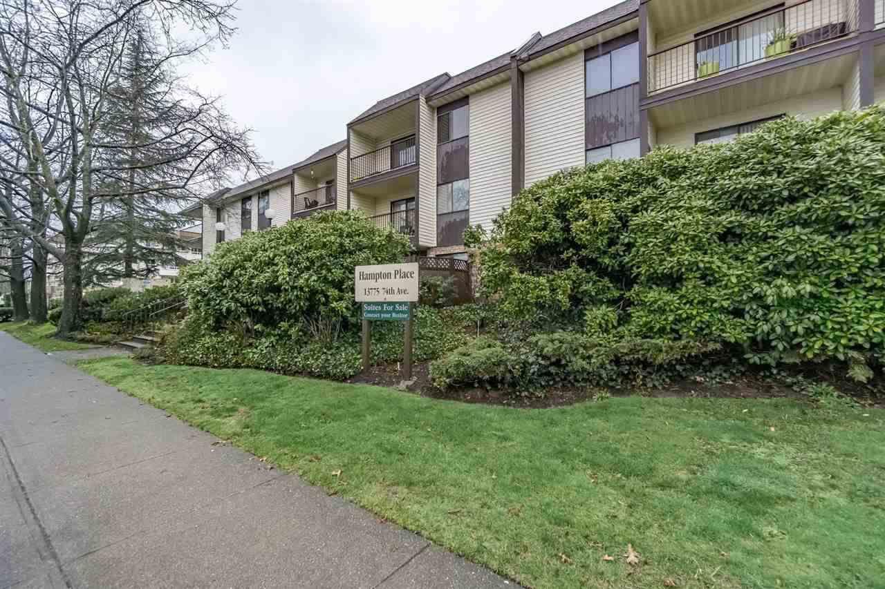 Main Photo: 217 13775 74 Avenue in Surrey: East Newton Condo for sale : MLS®# R2261842