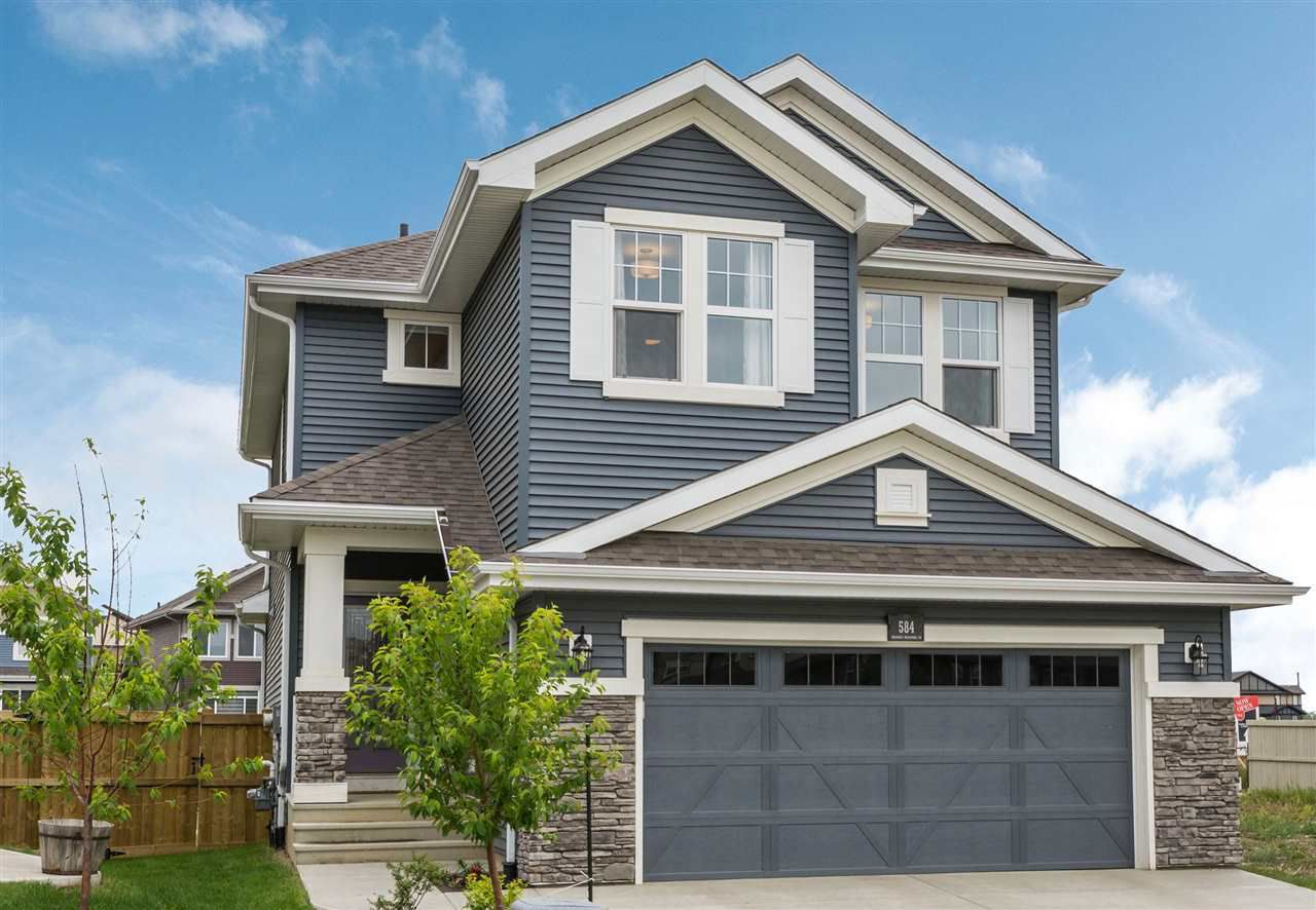 Main Photo: 584 ORCHARDS Boulevard in Edmonton: Zone 53 House for sale : MLS®# E4160741
