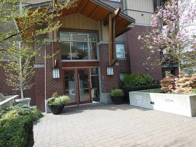 Exterior of Macpherson Walk East 5885 building - last driveway if you are heading east on Irmin.