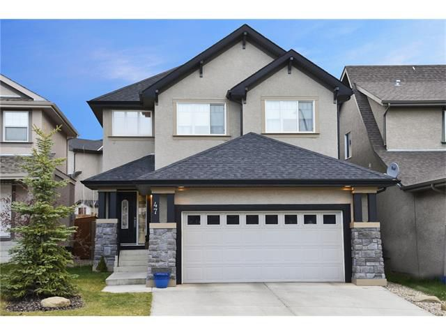 Main Photo: 47 EVERBROOK Link SW in Calgary: Evergreen House for sale : MLS®# C4061828