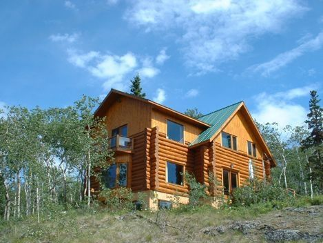 Built partway up Monarch Mountain overlooking Atlin Lake and surrounding mountains, there are spectacular views whichever way you look.  You can watch the boats on the lake, the everchanging colors of sunrise and sunset, animals in the surrounding woods!
