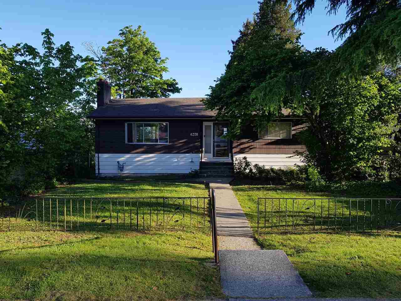 Main Photo: 6378 NEVILLE Street in Burnaby: South Slope House for sale (Burnaby South)  : MLS®# R2170763