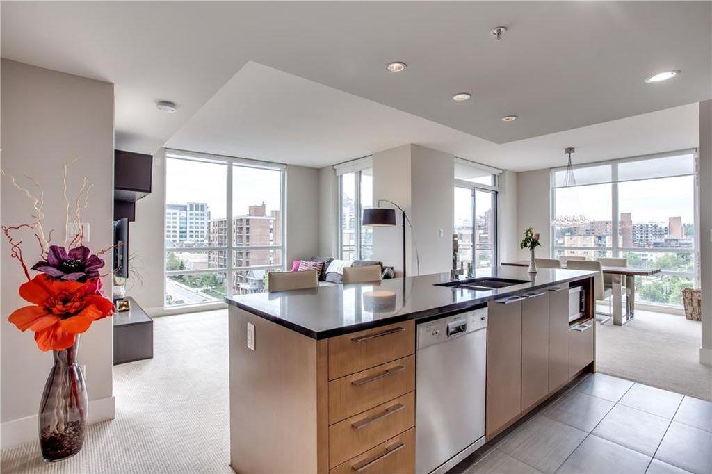 Main Photo: 606 1111 10 Street SW in Calgary: Beltline Condo for sale : MLS®# C4123475