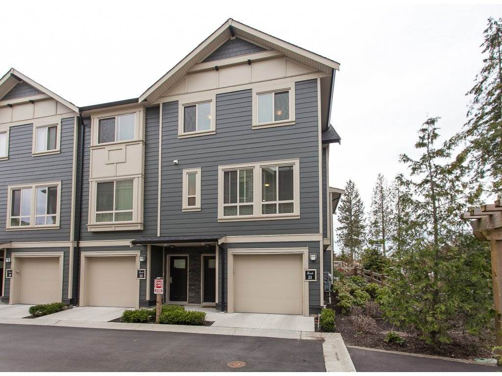 """Main Photo: 21 19913 70 Avenue in Langley: Willoughby Heights Townhouse for sale in """"The Brooks"""" : MLS®# R2246073"""