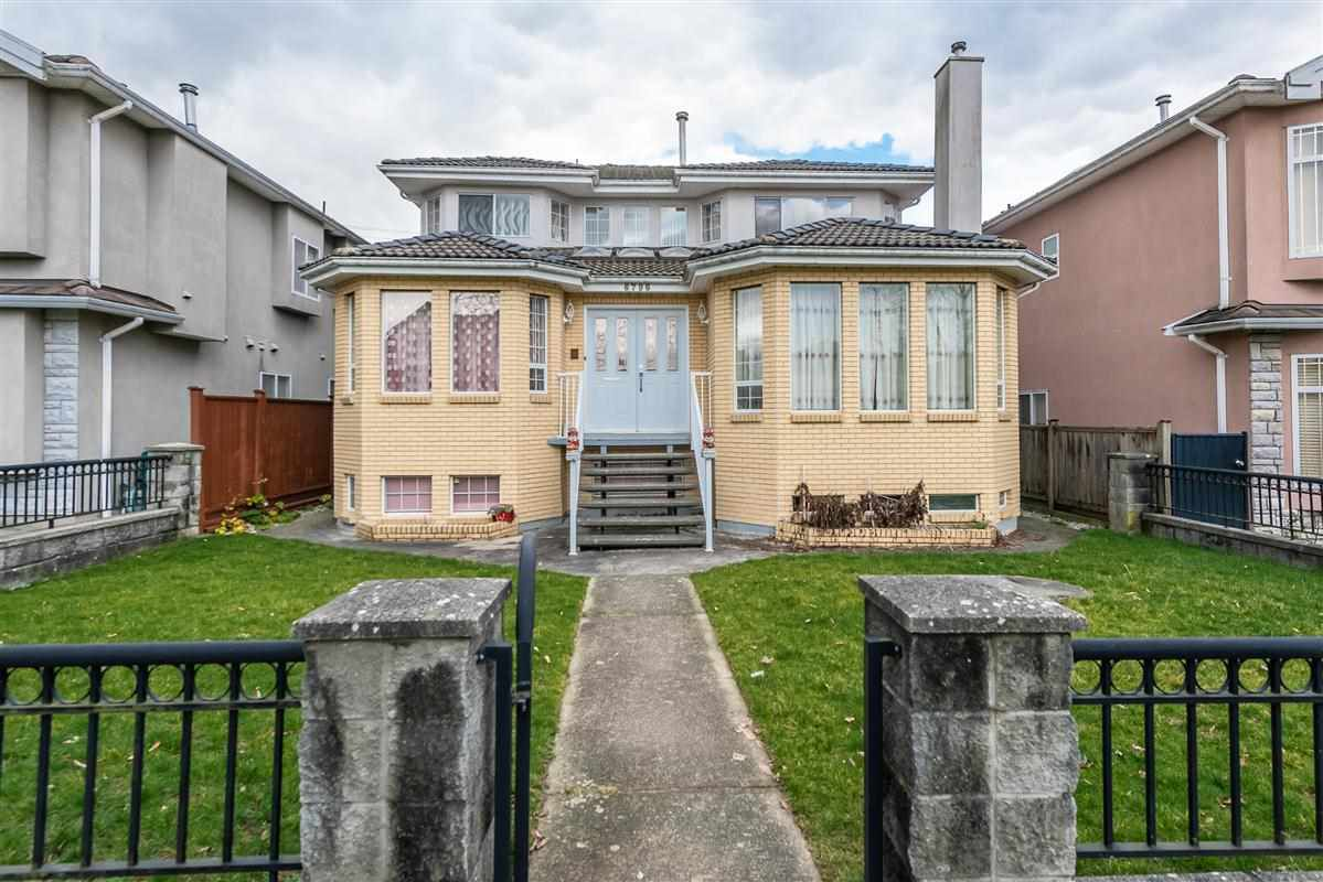 Main Photo: 6796 FLEMING Street in Vancouver: Knight House for sale (Vancouver East)  : MLS®# R2334982