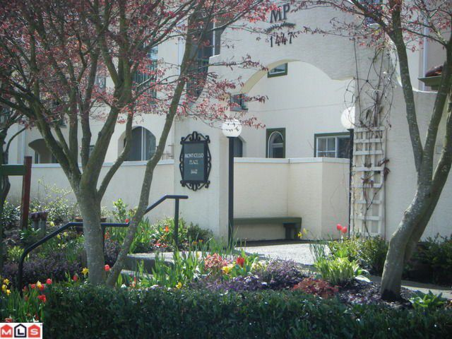 """Main Photo: 302 1447 BEST Street: White Rock Condo for sale in """"Monticello Place"""" (South Surrey White Rock)  : MLS®# F1110788"""