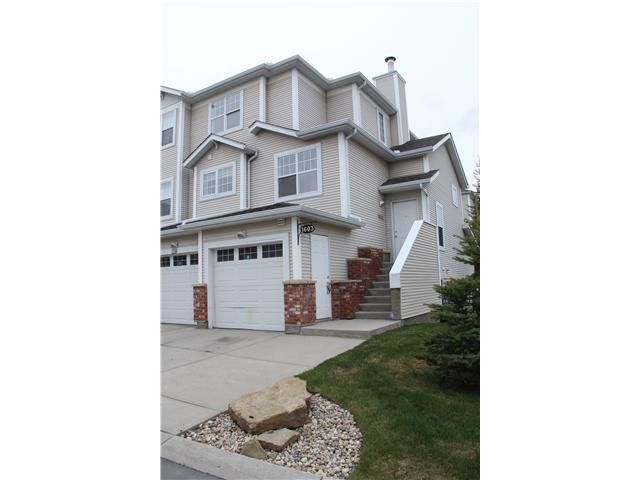 Main Photo: 1603 7171 COACH HILL Road SW in CALGARY: Coach Hill Townhouse for sale (Calgary)  : MLS®# C3617664