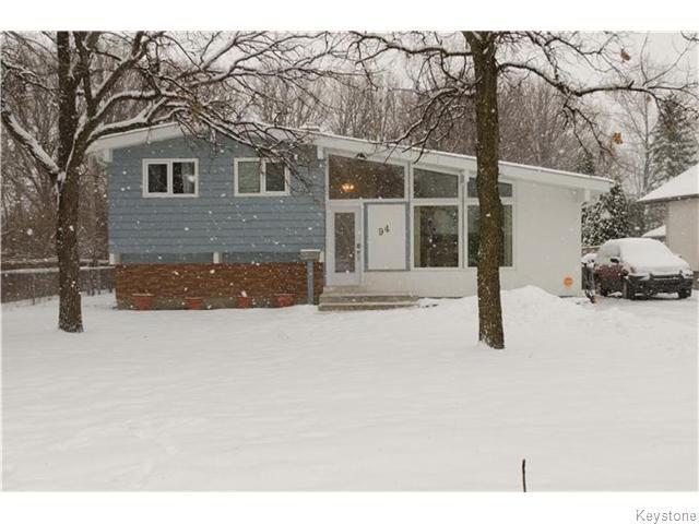 Main Photo: 94 Riverbend Avenue in WINNIPEG: St Vital Residential for sale (South East Winnipeg)  : MLS®# 1531712