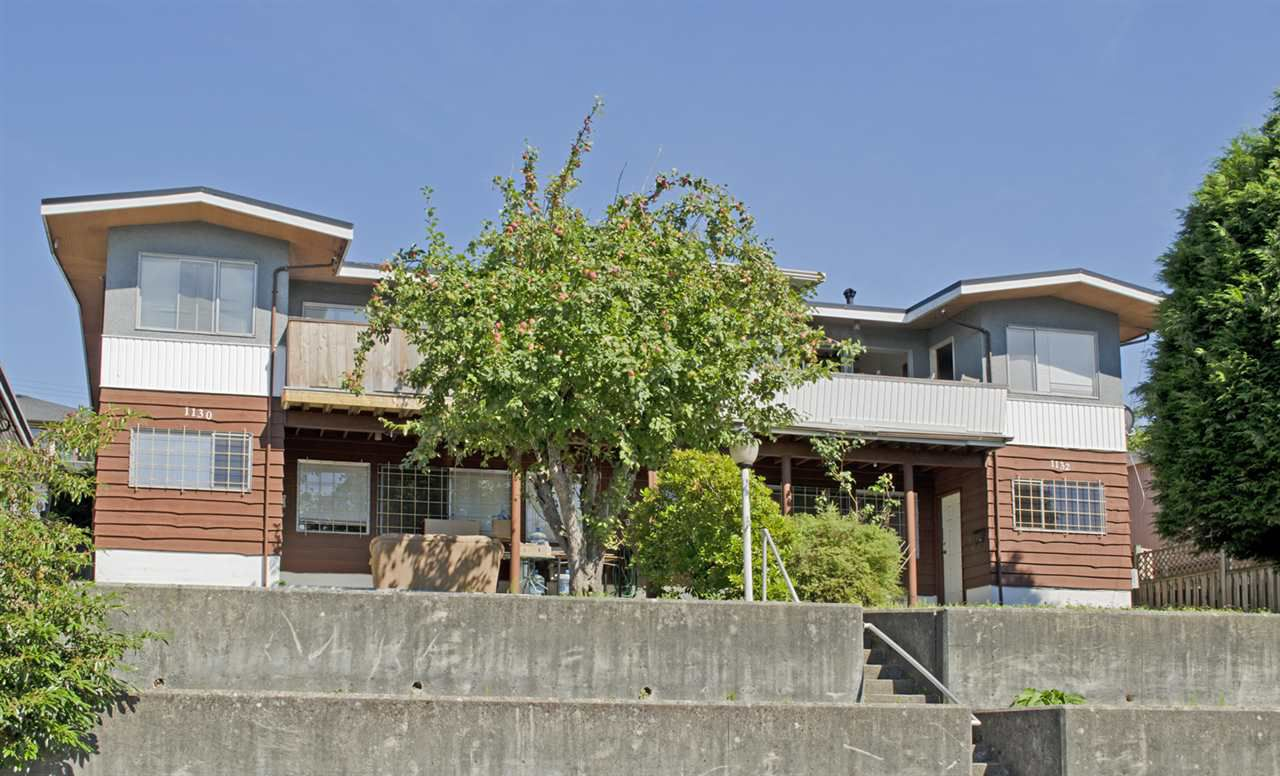 Main Photo: 1130 HOLDOM Avenue in Burnaby: Parkcrest House Duplex for sale (Burnaby North)  : MLS®# R2087614