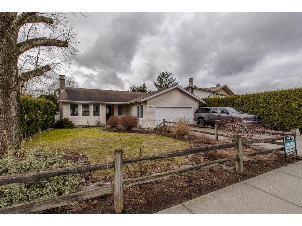 Main Photo: 6491 WILTSHIRE Street in Sardis: Sardis West Vedder Rd House for sale : MLS®# R2141976