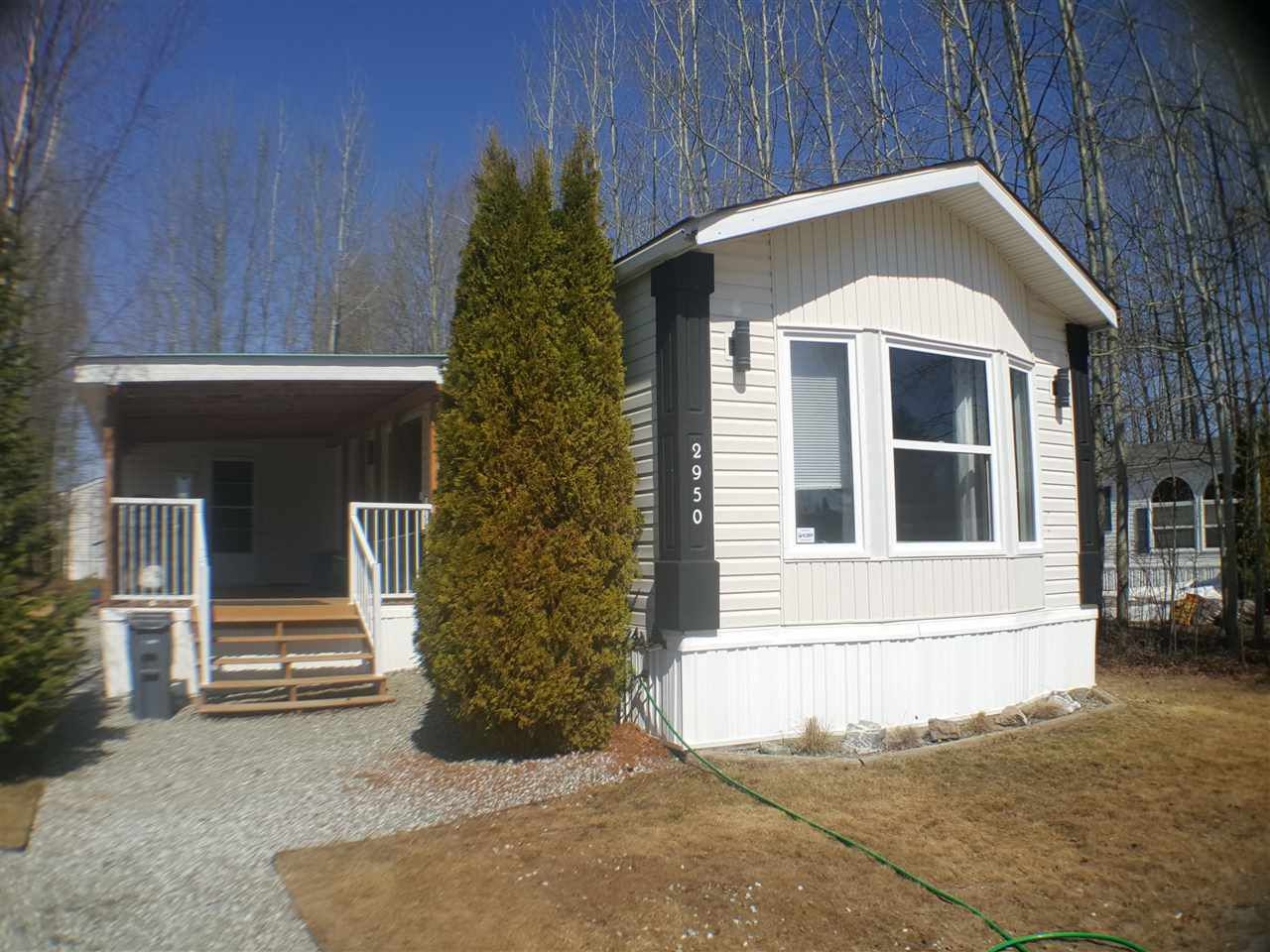 Main Photo: 2950 GREENFOREST Crescent: Emerald Manufactured Home for sale (PG City North (Zone 73))  : MLS®# R2266561