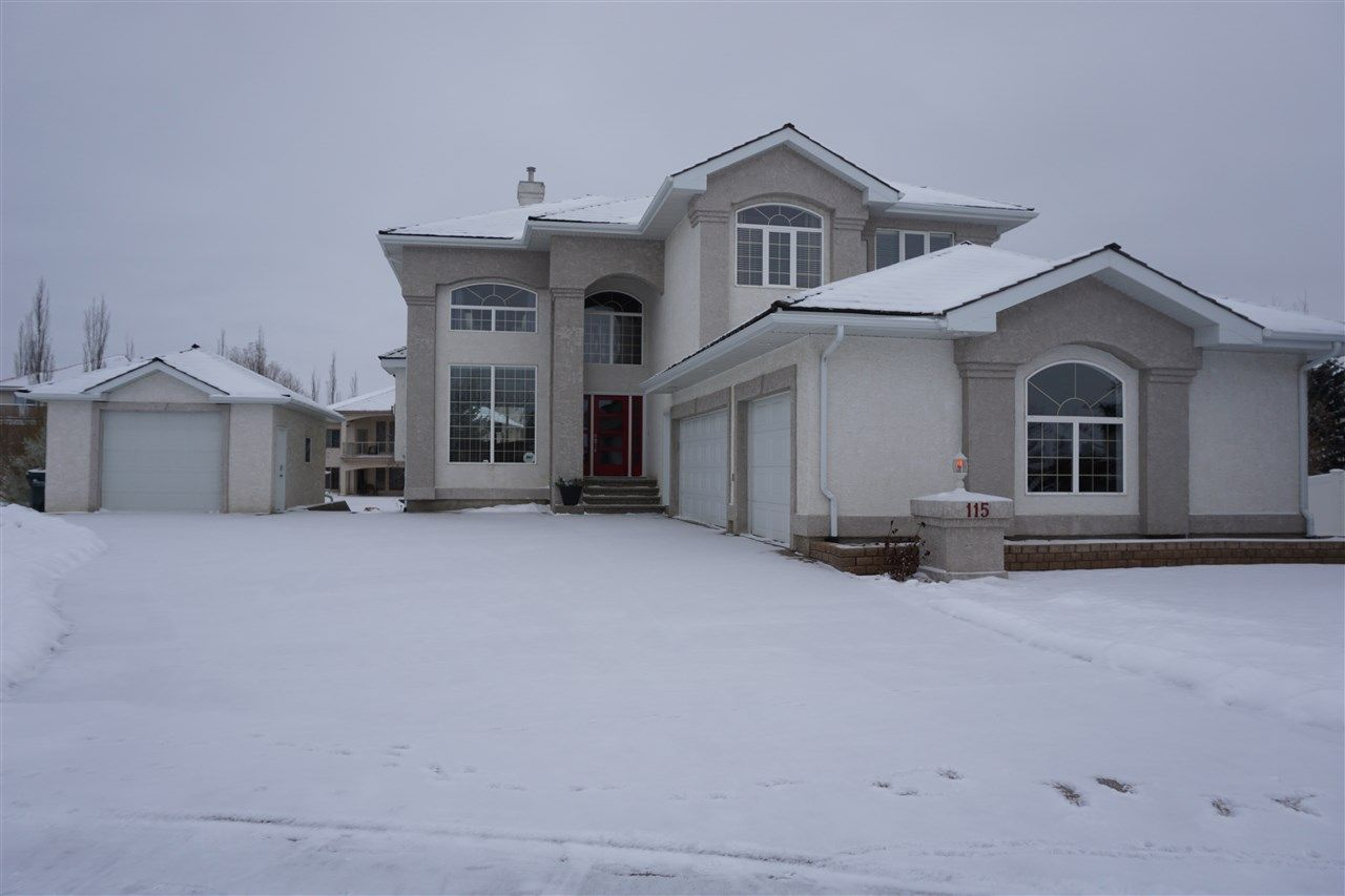 Triple Attached Garage, Single Detached Garage with RV parking on the left beside Single.