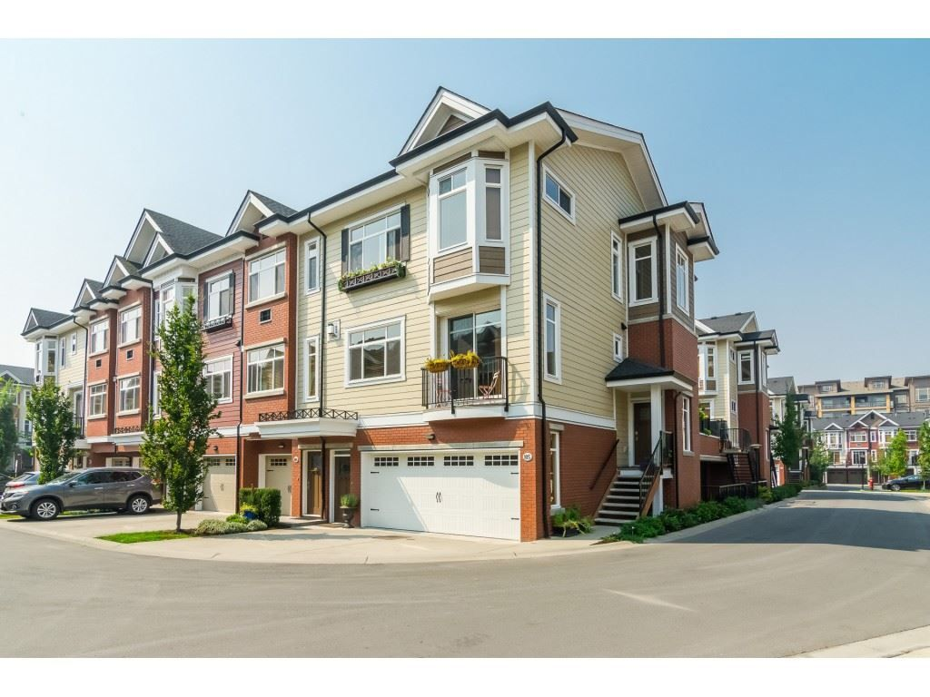 "Main Photo: 105 8068 207TH Street in Langley: Willoughby Heights Townhouse for sale in ""Yorkson Creek - Townhomes South"" : MLS®# R2313361"