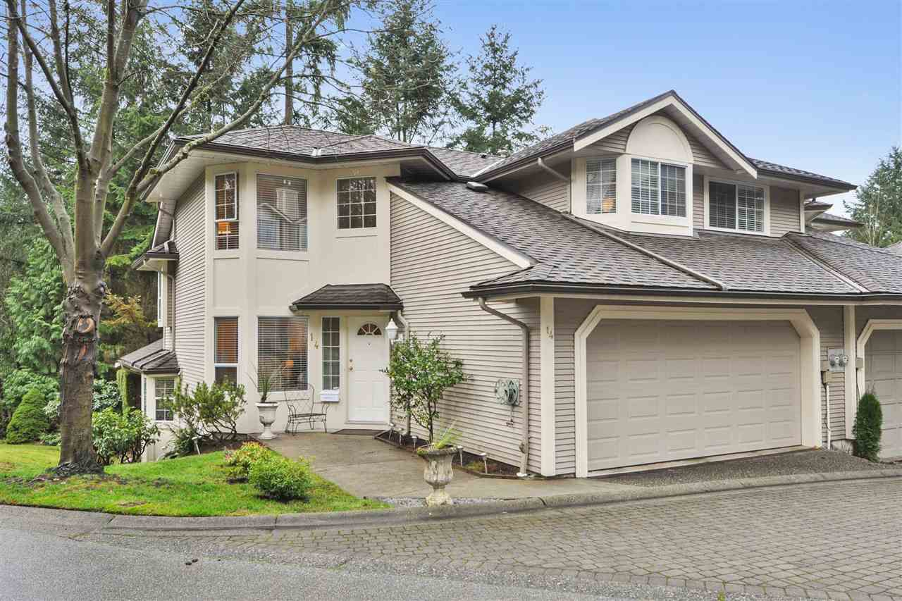 "Main Photo: 14 101 PARKSIDE Drive in Port Moody: Heritage Mountain Townhouse for sale in ""TREETOPS"" : MLS®# R2336738"