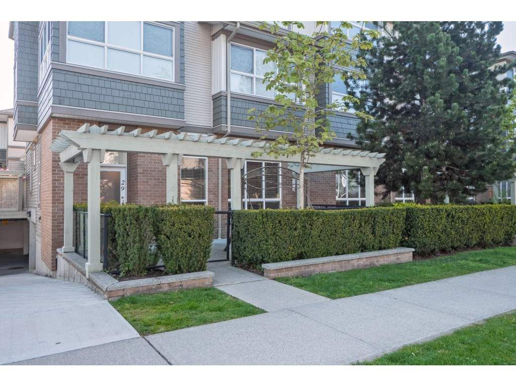 """Main Photo: 29 15353 100 Avenue in Surrey: Guildford Townhouse for sale in """"SOUL OF GUILDFORD"""" (North Surrey)  : MLS®# R2366087"""