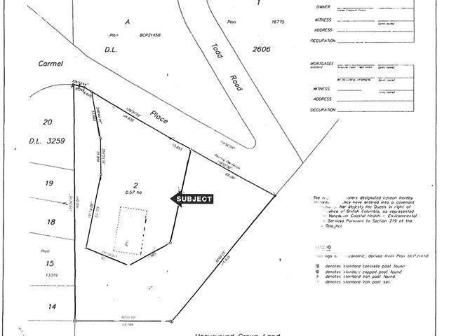 Main Photo: LOT 1 CARMEL PLACE in Sechelt: Sechelt District Home for sale (Sunshine Coast)  : MLS®# V1112207