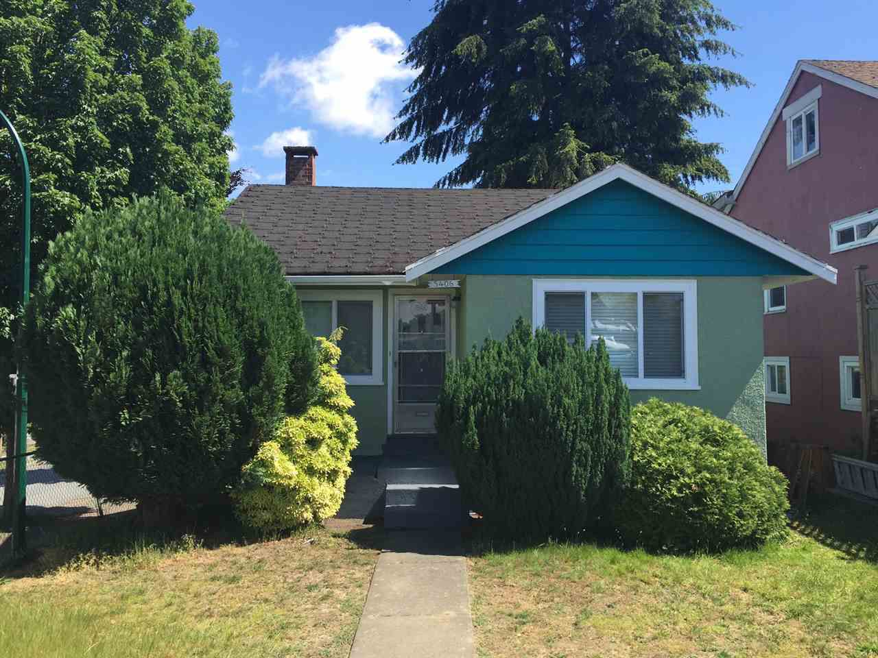Main Photo: 5406 JOYCE Street in Vancouver: Collingwood VE House for sale (Vancouver East)  : MLS®# R2078037