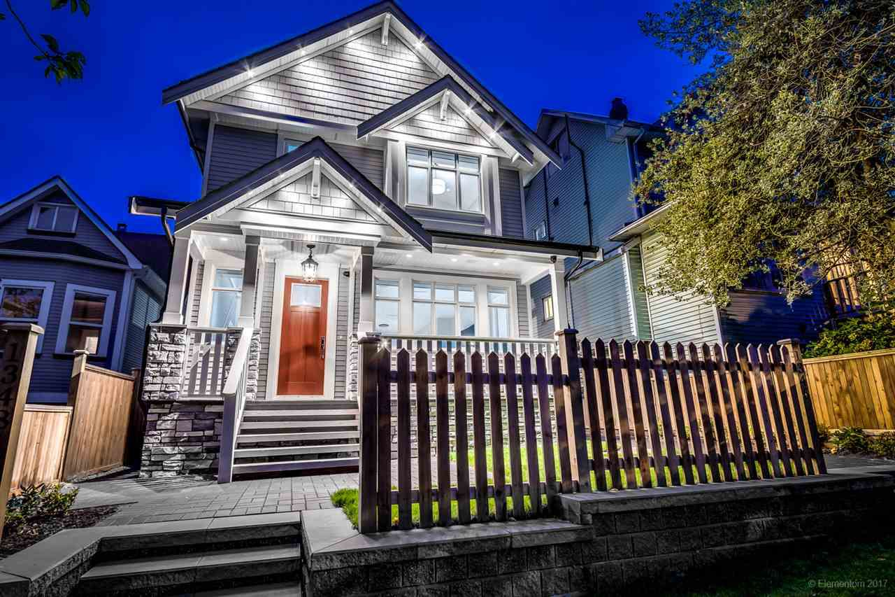 Main Photo: 1348 E 18TH Avenue in Vancouver: Knight House 1/2 Duplex for sale (Vancouver East)  : MLS®# R2214853