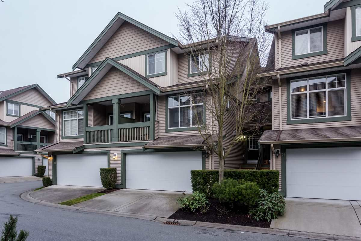 """Main Photo: 30 6050 166 Street in Surrey: Cloverdale BC Townhouse for sale in """"Westfield"""" (Cloverdale)  : MLS®# R2244806"""