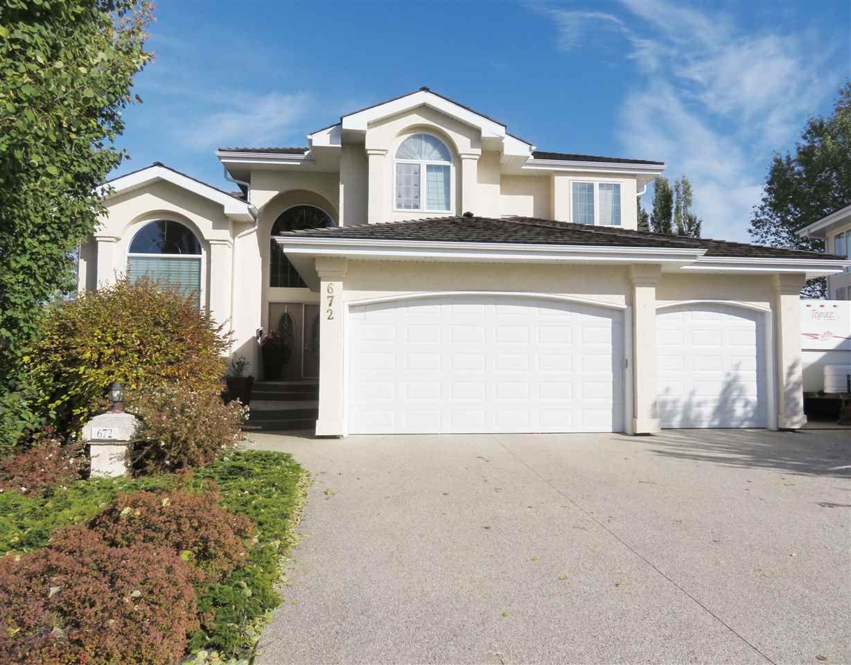 Main Photo: 672 HENDERSON Street in Edmonton: Zone 14 House for sale : MLS®# E4132916