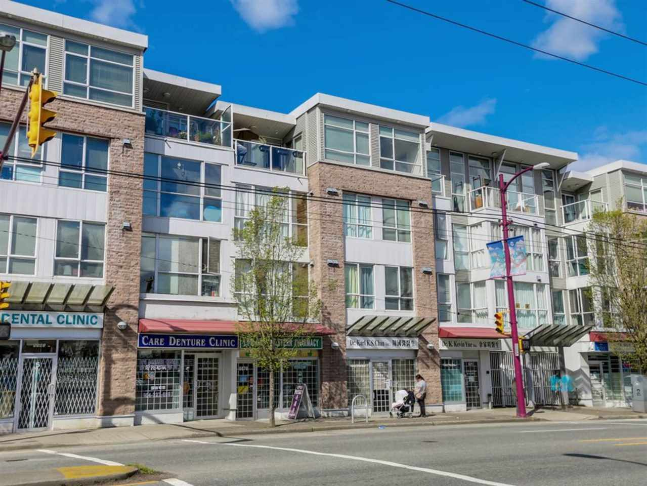 "Main Photo: 325 5555 VICTORIA Drive in Vancouver: Victoria VE Condo for sale in ""VICTORIA"" (Vancouver East)  : MLS®# R2334274"