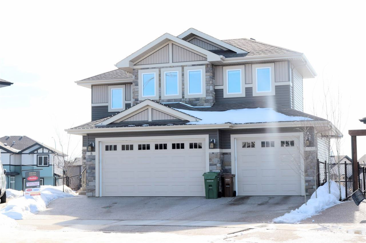 Main Photo: 8 NADIA Place: St. Albert House for sale : MLS®# E4148708