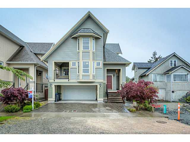"Main Photo: 226 DAWE Street in New Westminster: Queensborough House for sale in ""HERITAGE LANE HOMES"" : MLS®# V1063177"