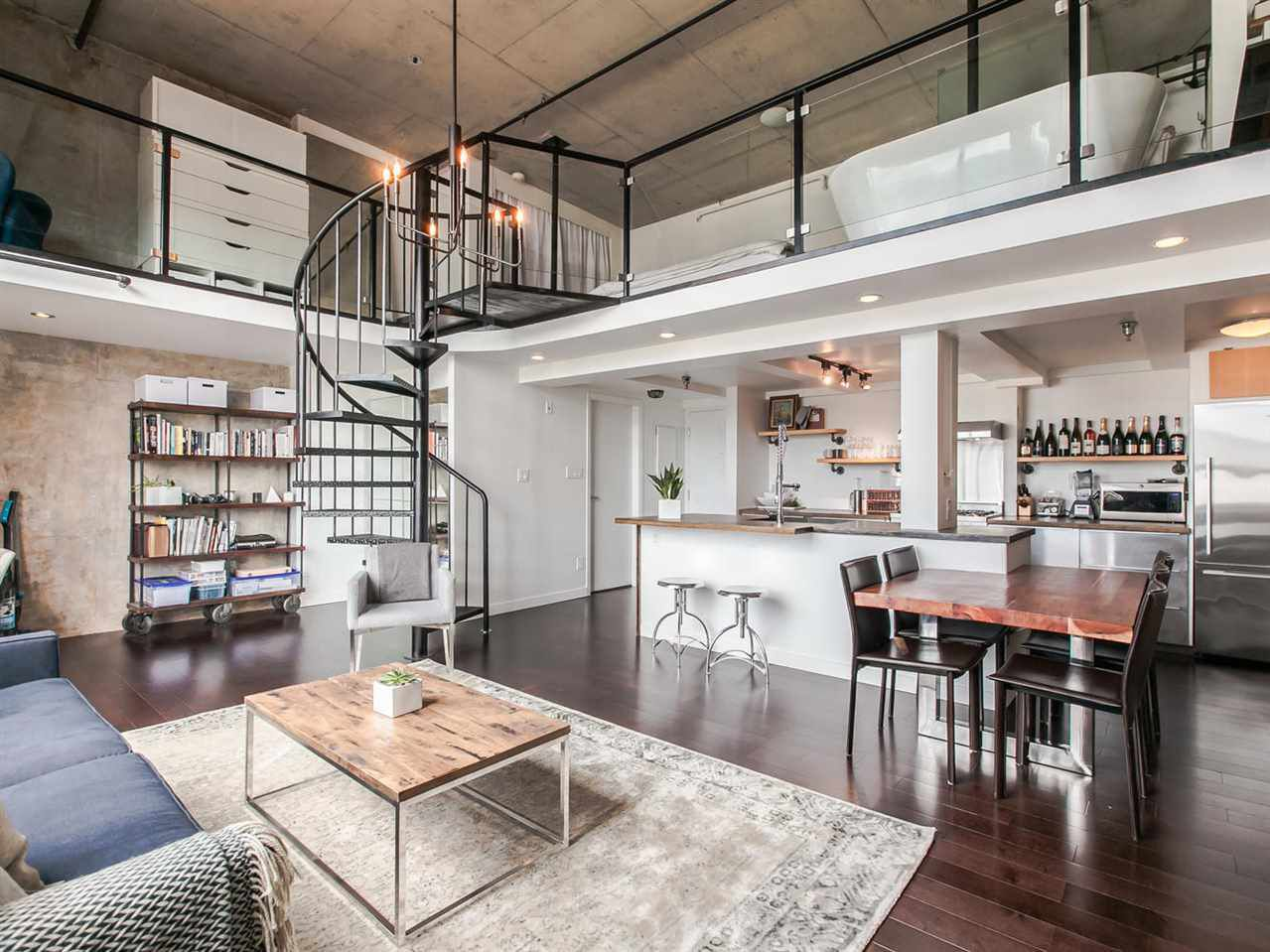 """Main Photo: 406 2001 WALL Street in Vancouver: Hastings Condo for sale in """"CANARY ROW"""" (Vancouver East)  : MLS®# R2085922"""