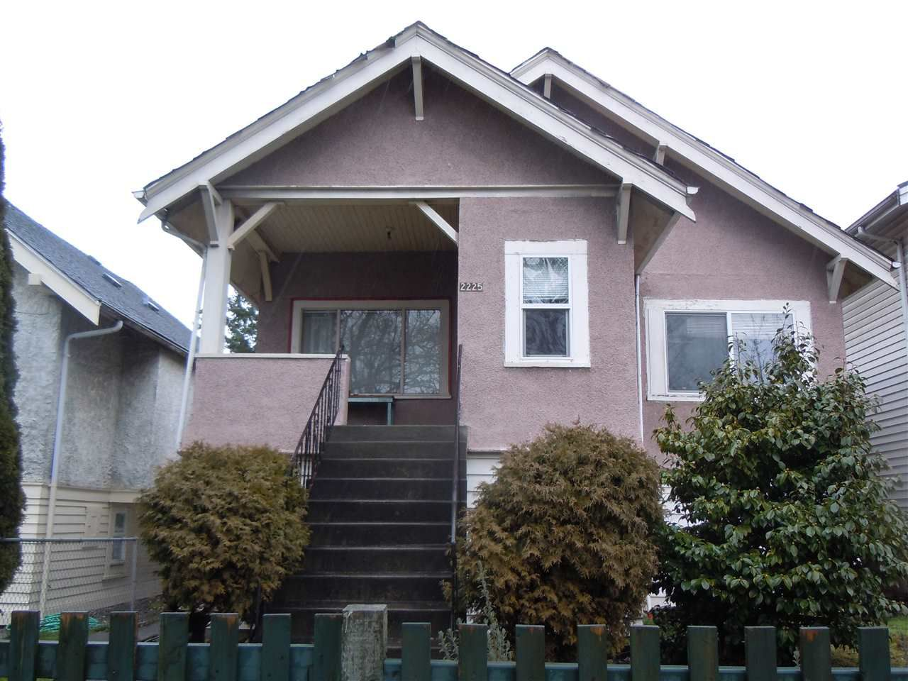 Main Photo: 2225 E BROADWAY in Vancouver: Grandview VE House for sale (Vancouver East)  : MLS®# R2132723