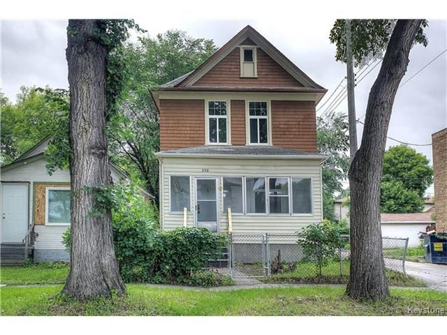 Main Photo: 398 Anderson Avenue in Winnipeg: Residential for sale (4C)  : MLS®# 1703878