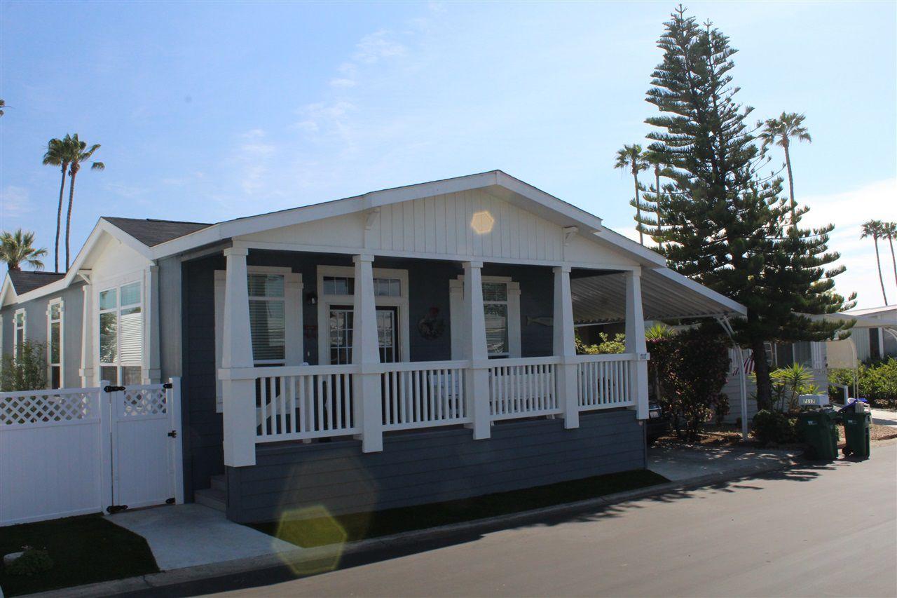 Main Photo: CARLSBAD WEST Manufactured Home for sale : 2 bedrooms : 7117 Santa Cruz #83 in Carlsbad