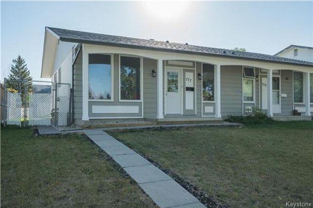 Main Photo: 777 Dale Boulevard in Winnipeg: Westdale Residential for sale (1H)  : MLS®# 1725481