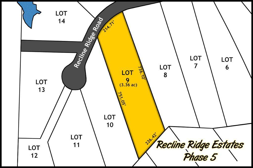 Recline Ridge Estates Phase V - Lot 9