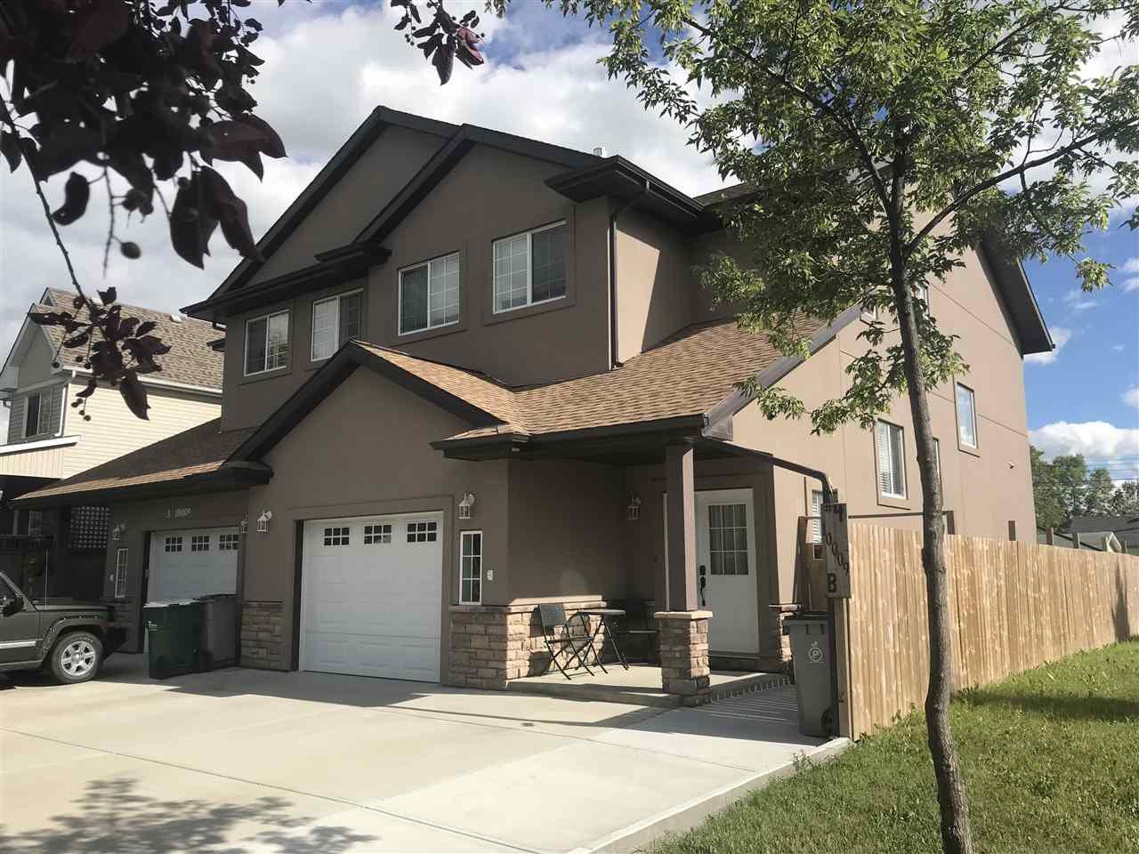 Main Photo: 4 10009B 98 Avenue: Morinville House Half Duplex for sale : MLS®# E4101987