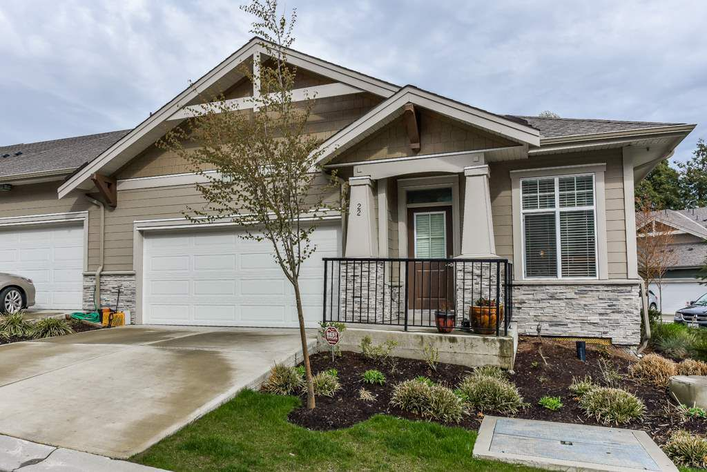 """Main Photo: 22 7138 210 Street in Langley: Willoughby Heights Townhouse for sale in """"Prestwick"""" : MLS®# R2355849"""