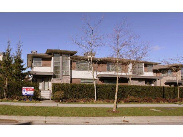 "Main Photo: 6 2603 162 Street in Surrey: Grandview Surrey Townhouse for sale in ""VINTERRA"" (South Surrey White Rock)  : MLS®# F1405604"