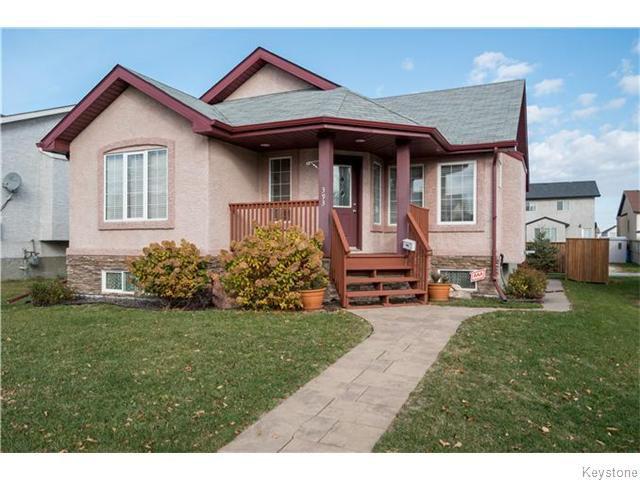 Main Photo: 393 Rougeau Avenue in WINNIPEG: Transcona Residential for sale (North East Winnipeg)  : MLS®# 1528891