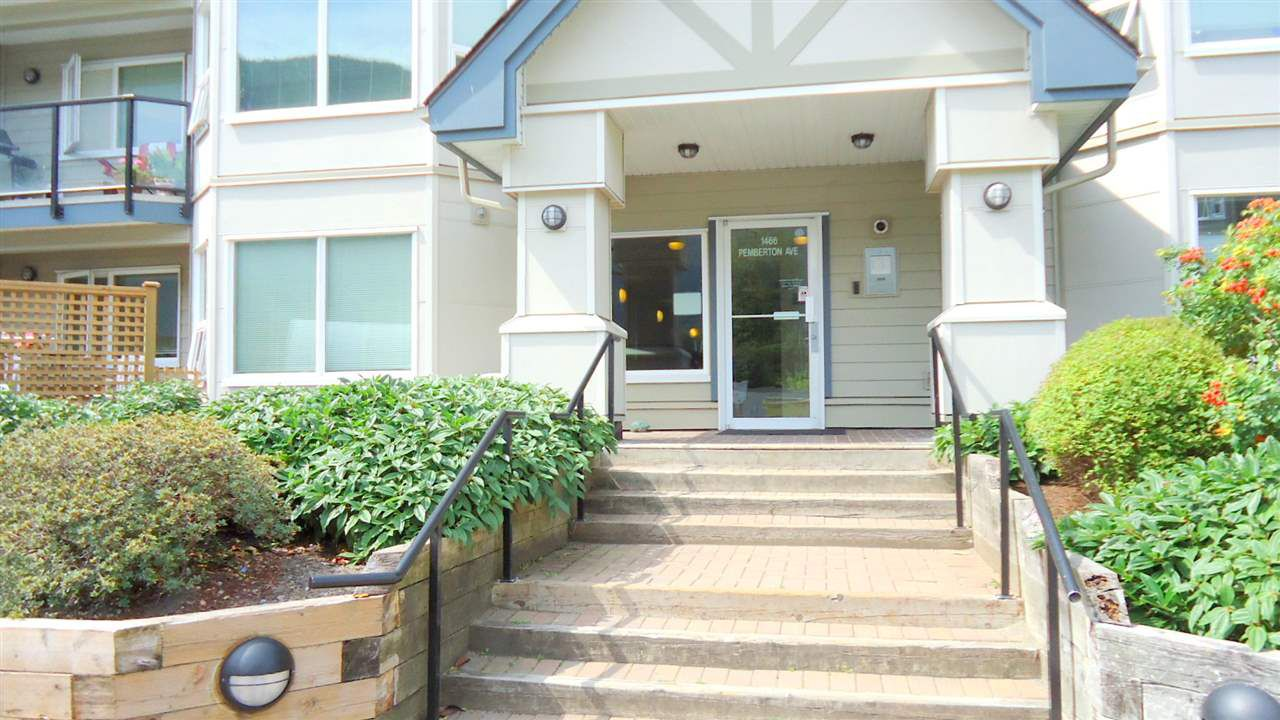 Main Photo: 101 1466 PEMBERTON Avenue in Squamish: Downtown SQ Condo for sale : MLS®# R2072860