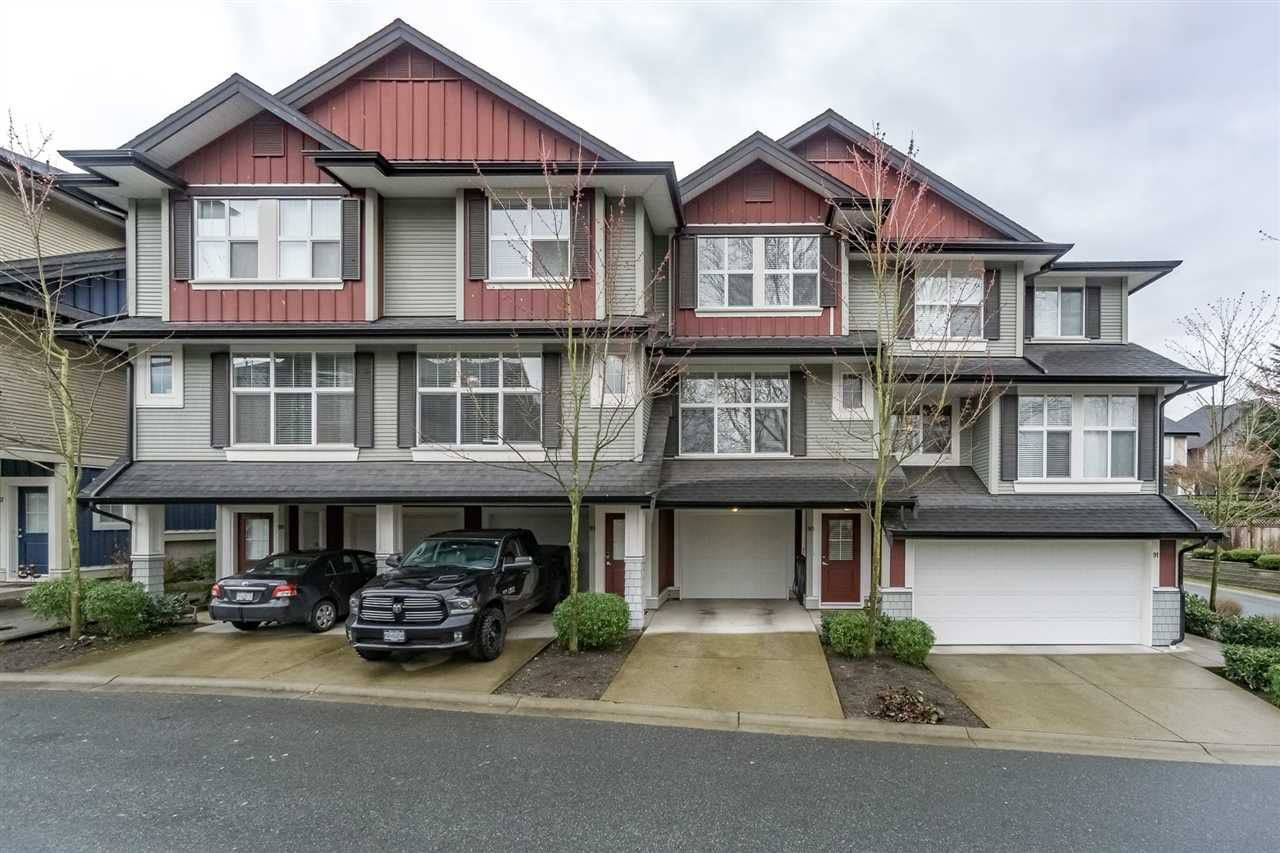 "Main Photo: 89 18199 70 Avenue in Surrey: Cloverdale BC Townhouse for sale in ""AUGUSTA"" (Cloverdale)  : MLS®# R2150184"