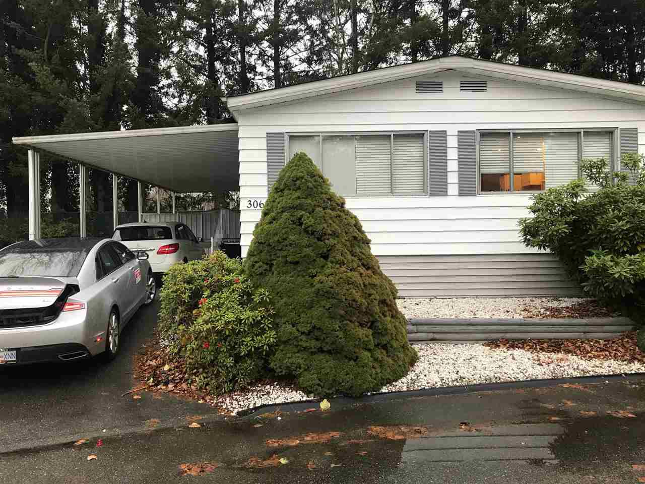 "Main Photo: 306 1840 160 Street in Surrey: King George Corridor Manufactured Home for sale in ""Breakaway Bays"" (South Surrey White Rock)  : MLS®# R2224617"