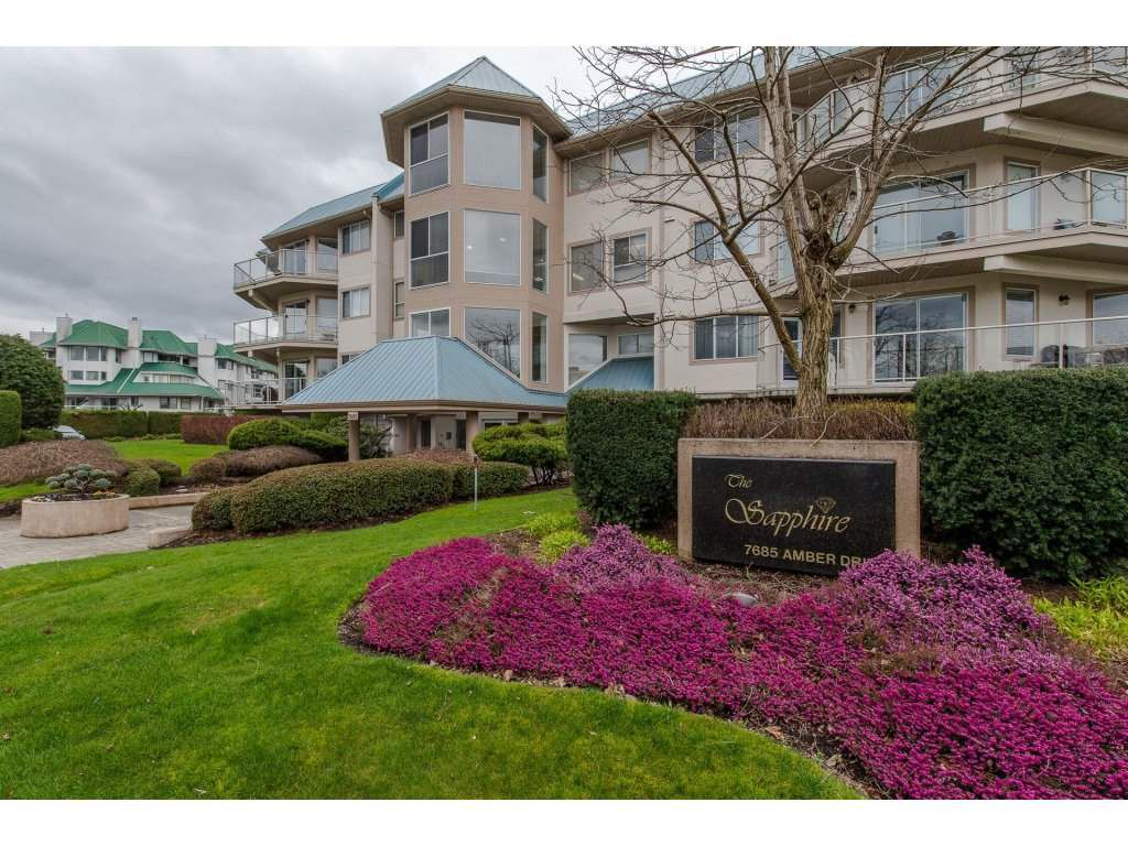 """Main Photo: 308 7685 AMBER Drive in Sardis: Sardis West Vedder Rd Condo for sale in """"The Sapphire"""" : MLS®# R2251869"""