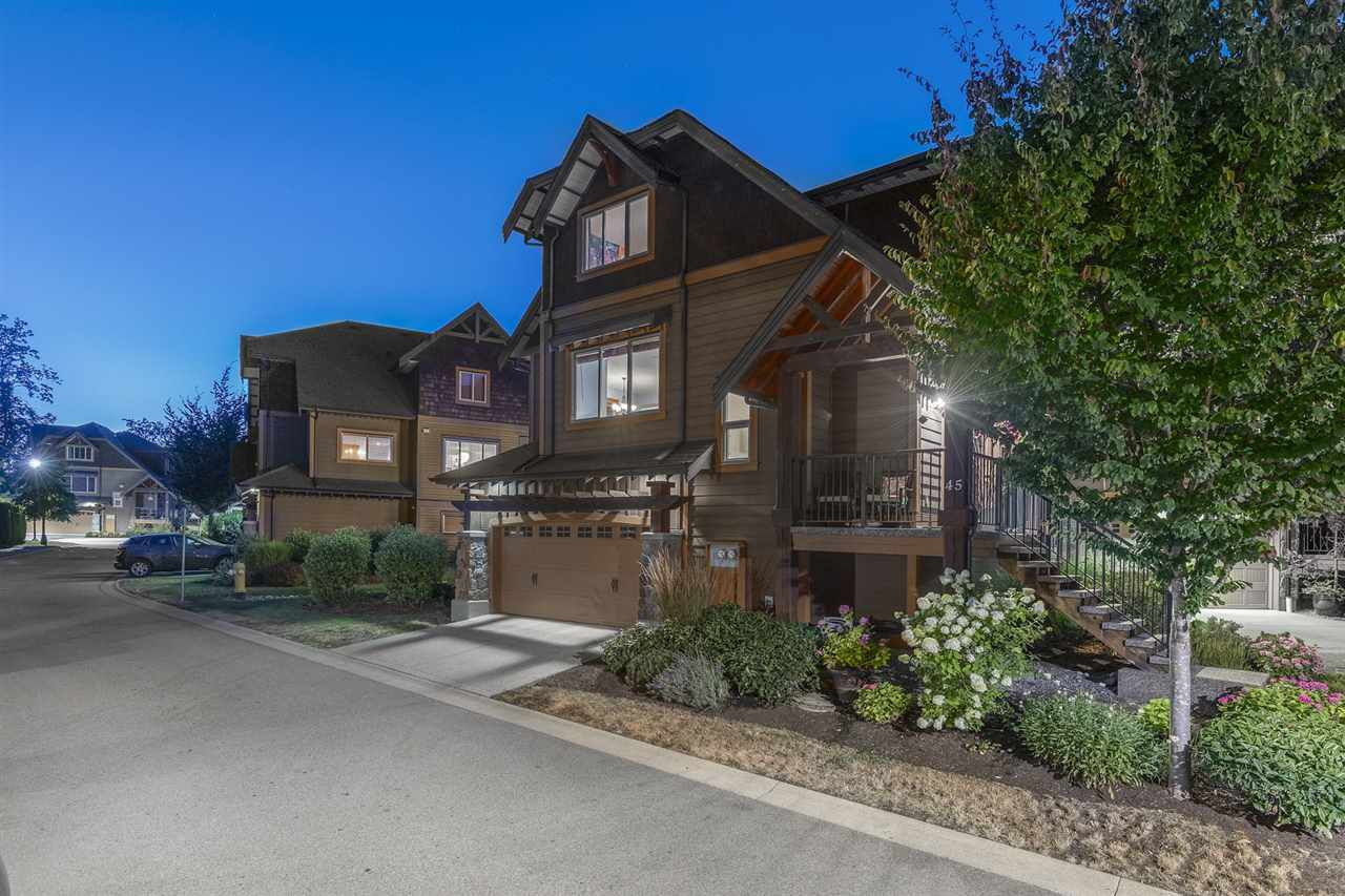 Trails Edge, duplex style home with side by side double garage. Beautiful complex bordered by Maggy Creek to the south, and Kanaka Creek to the north spread over  almost 20 acres