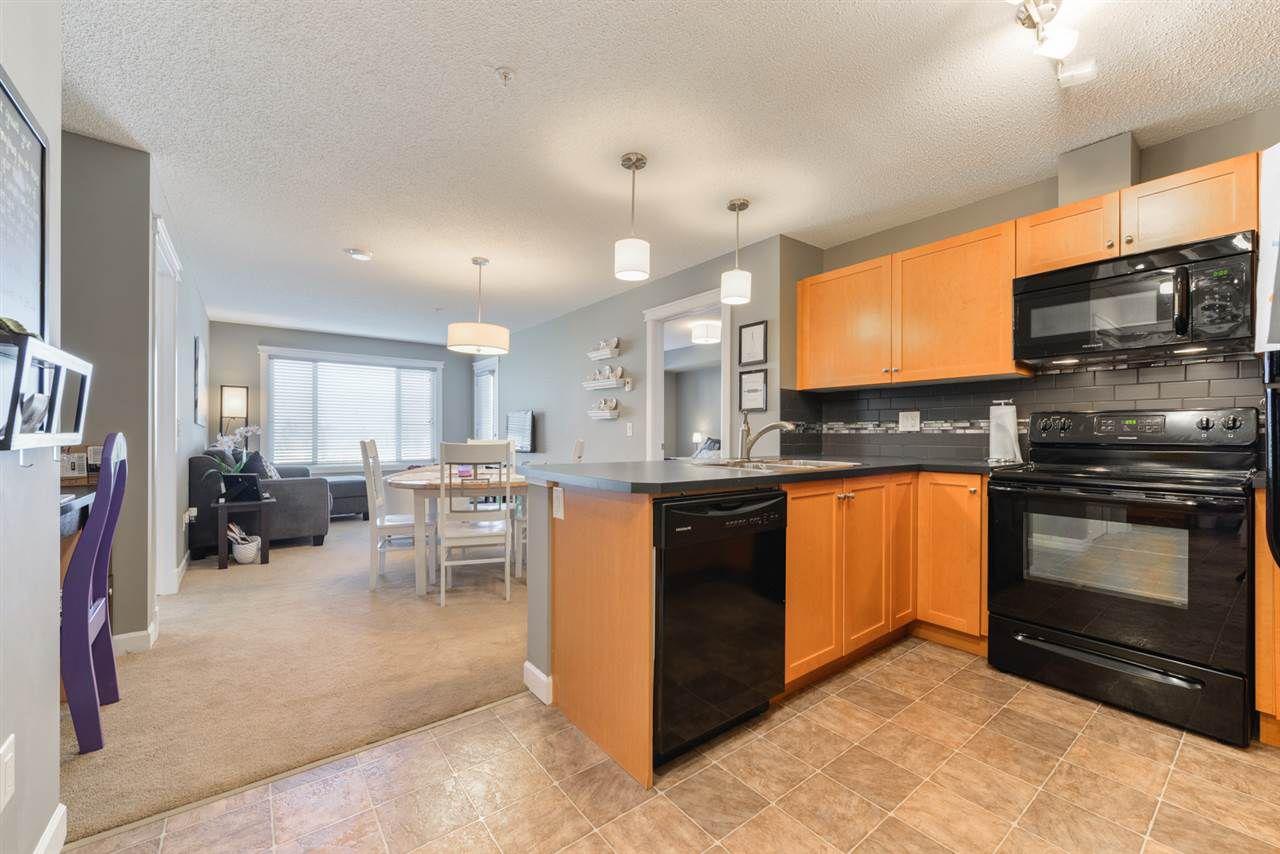 Main Photo: 318 3715 WHITELAW Lane in Edmonton: Zone 56 Condo for sale : MLS®# E4128465