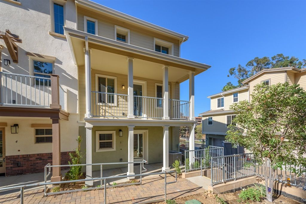 Main Photo: LA MESA Townhome for sale : 3 bedrooms : 4414 Palm Ave #3