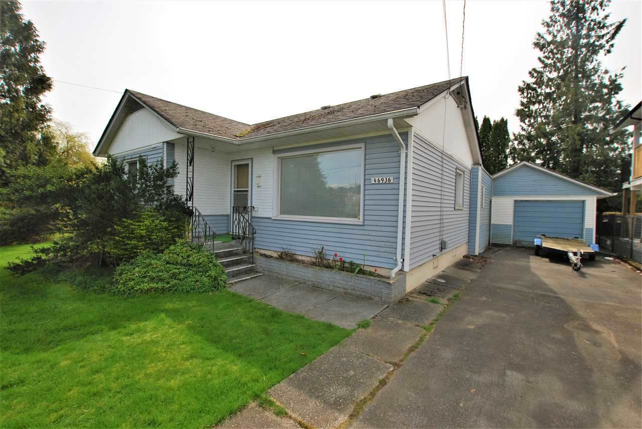 Main Photo: 46936 ACORN Avenue in Chilliwack: Chilliwack E Young-Yale House for sale : MLS®# R2368499