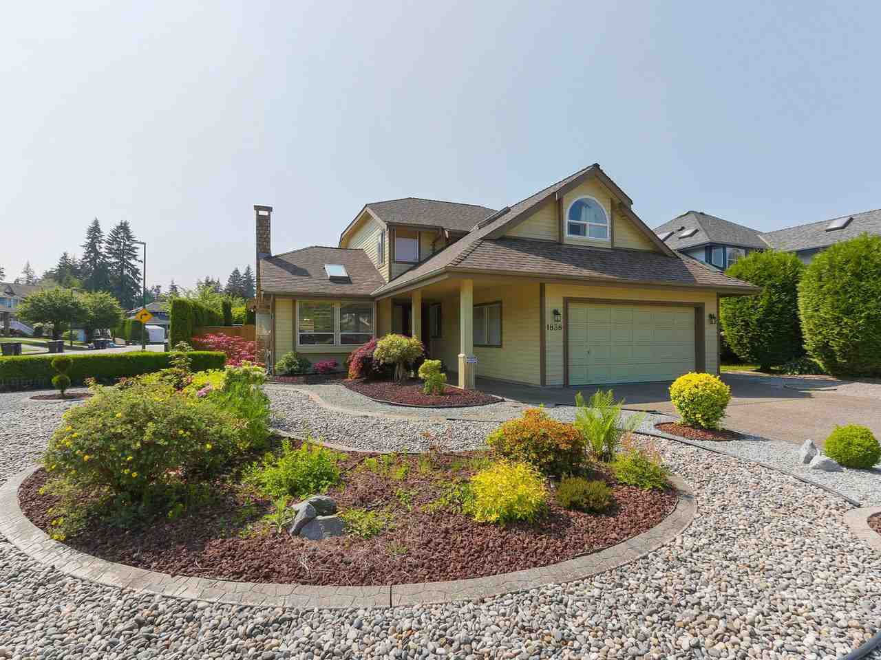 """Main Photo: 1838 WALNUT Crescent in Coquitlam: Central Coquitlam House for sale in """"Laurentian Heights"""" : MLS®# R2375199"""