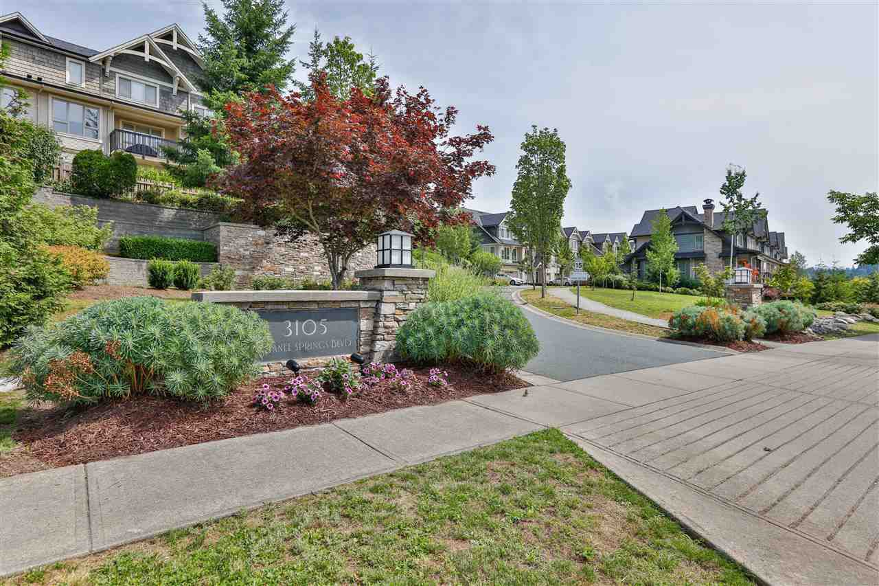 """Main Photo: 231 3105 DAYANEE SPRINGS Boulevard in Coquitlam: Westwood Plateau Townhouse for sale in """"Whitetail Lains at dayanee"""" : MLS®# R2385628"""