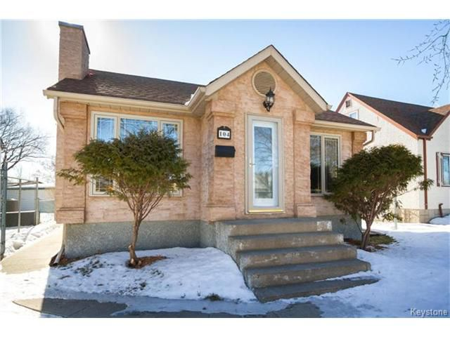 Main Photo: 104 Leila Avenue in Winnipeg: Scotia Heights Residential for sale (4D)  : MLS®# 1703770