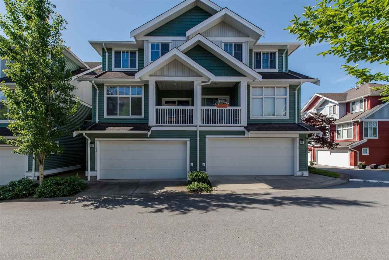 "Main Photo: 53 6785 193 Street in Surrey: Clayton Townhouse for sale in ""MADRONA"" (Cloverdale)  : MLS®# R2174634"