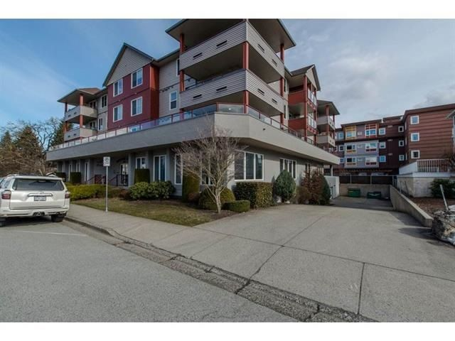 "Main Photo: 206 8980 MARY Street in Chilliwack: Chilliwack W Young-Well Condo for sale in ""GREYSTONE CENTER"" : MLS®# R2226309"